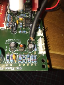 Coax to PCB