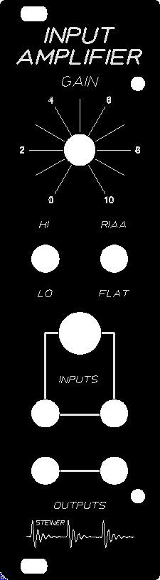 Steiner Input Amplifier