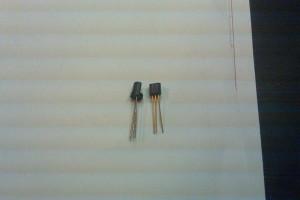 Transistor 2n5172 old v. new