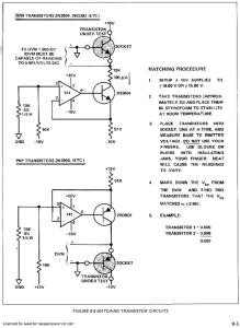 Transistor matching Schematic