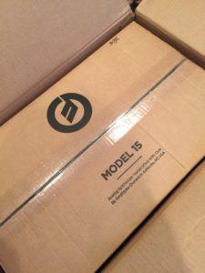 Moog Model 15 inner box
