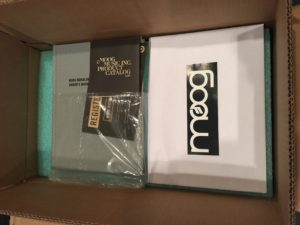 Moog Model 15 open box