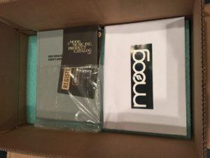 Moog Model 15 open box