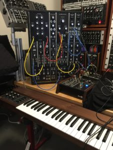 Moog Model 15 patched